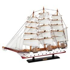 Модель корабля с белыми парусами Confection