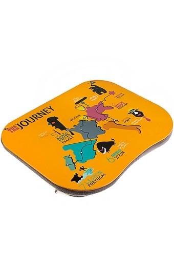 Подставка для ноутбука с подушкой Путешествие
