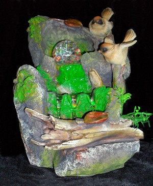 Декоративный фонтан Птички-синички