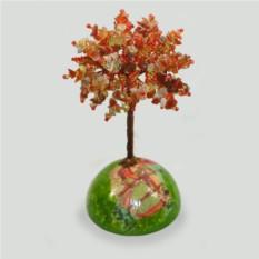 Дерево счастья из сардоникса на куполе