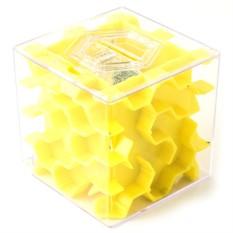 Желтая копилка-головоломка