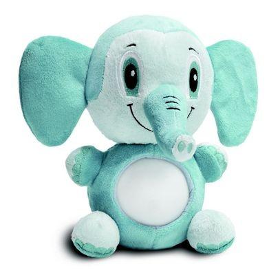 Светодиодный ночник-мягкая игрушка Слоненок Оливер