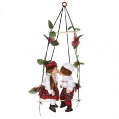 Набор фарфоровых кукол Поцелуй-ка! от Jiangsu Holly