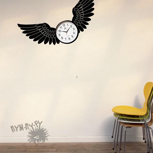 Интерьерная наклейка Крылья для полета