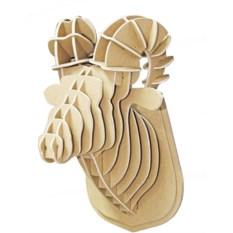 3D конструктор Голова снежного барана