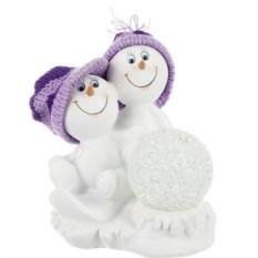 Фигурка с led-подсветкой Снеговики