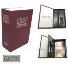 Книга-сейф с кодовым замком The new english dictionary Bordo