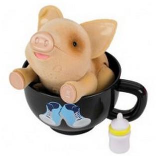 Игровой набор Пигис-милашки в чайных чашках Голди