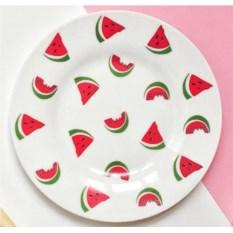 Фарфоровая тарелка Арбуз