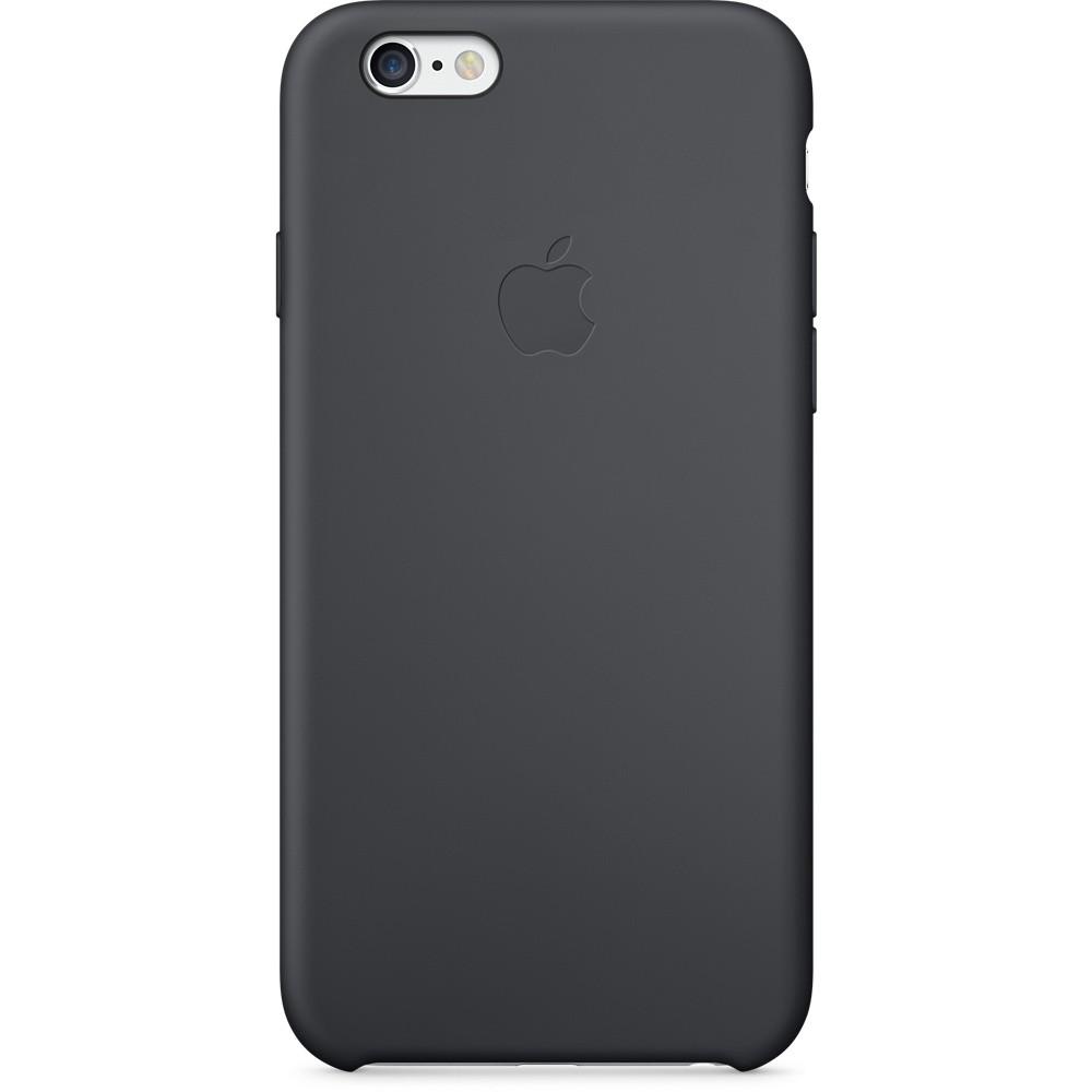 Черный силиконовый чехол для Apple iPhone 6
