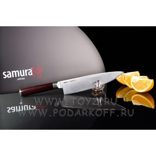 Нож кухонный поварской Шеф Samura mo-v