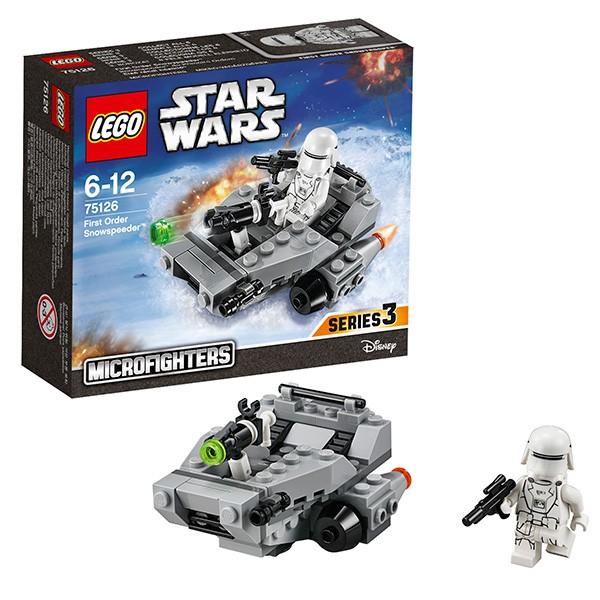 Конструктор  Lego Star Wars Снежный спидер Первого Ордена