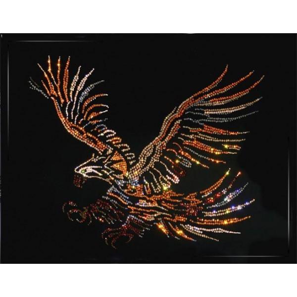 Картина с кристаллами Swarovski Большой орел