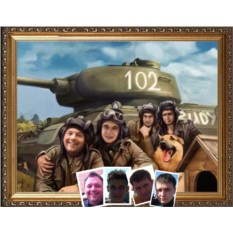 Портрет для танкиста