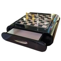Шахматный набор с ящиком Серебро и золото