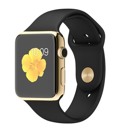 Apple Watch Edition 42mm with Black Sport Band