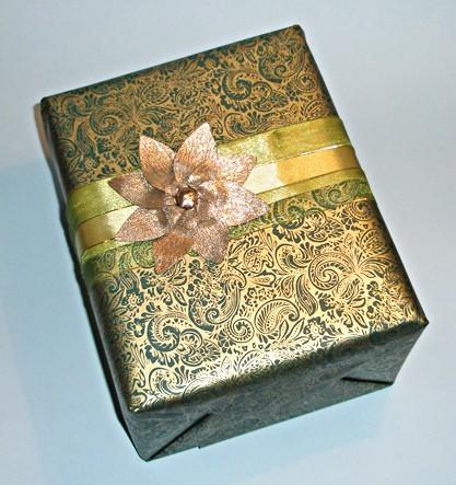 Роскошная подарочная упаковка