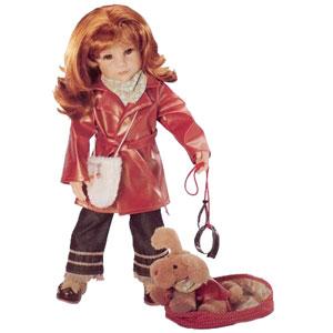Кукла Сэйра с собачкой