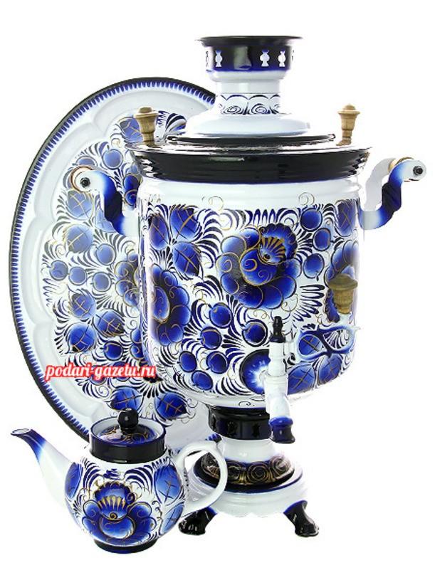 Набор для чаепития Гжель