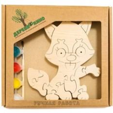 Развивающая игрушка Лисенок с красками