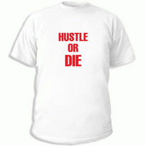 Футболка Hustle or die