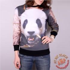Хлопковая толстовка-свитшот Панда