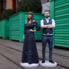 3D фигурка любимой -  миниатюрная копия