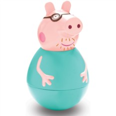 Фигурка-неваляшка «Папа Свин», Peppa Pig