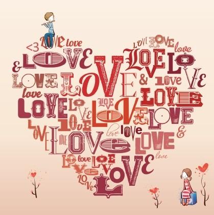 Открытка Люблю