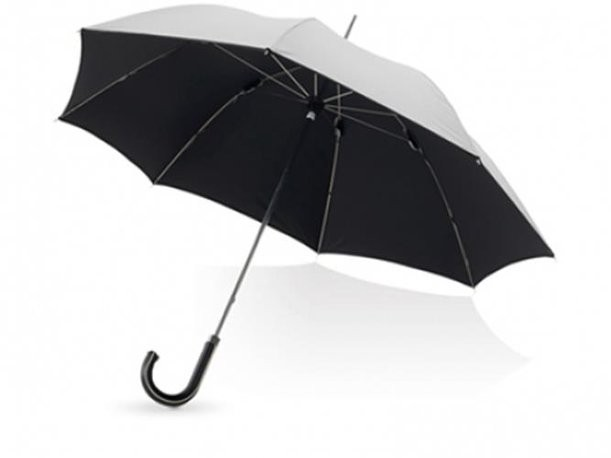 Зонт-трость Balmain серебристого цвета