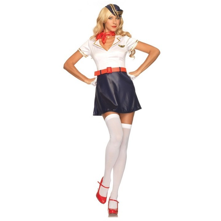 Маскарадный костюм «Ретро стюардесса»