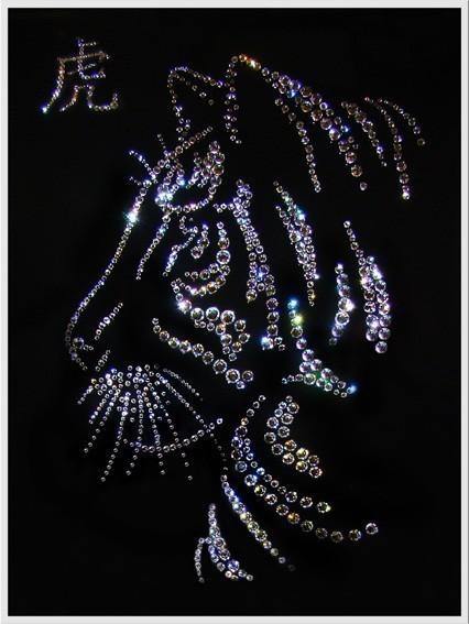 Картина Swarovski Символ года Тигр