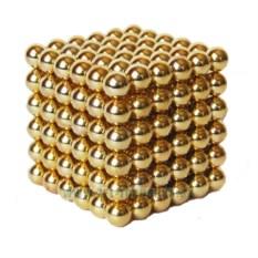 Конструктор-головоломка Неокуб золото
