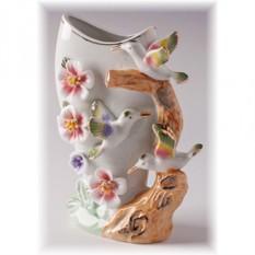 Фарфоровая ваза Колибри