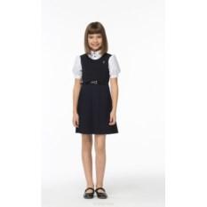 Сарафан с плиссированной юбкой для девочек Смена