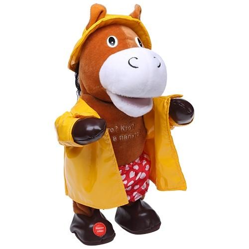 Музыкальная игрушка «Конь в пальто»