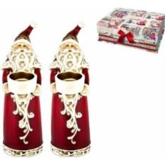 Набор подсвечников Дед Мороз