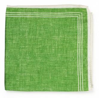 Салатовый шёлковый платок Roda