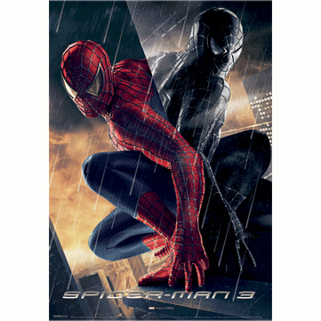 Постер 3D «Человек-паук»