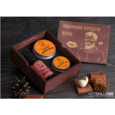 Подарочный набор для ухода за бородой «Любимому бородачу»