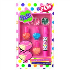 Набор детской декоративной косметики для ногтей