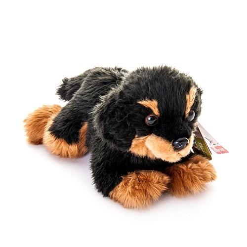 Мягкая игрушка Aurora Ротвейлер щенок, 22 см