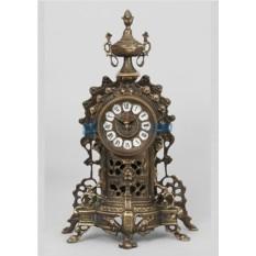Часы из бронзы Алькасар, каштановые