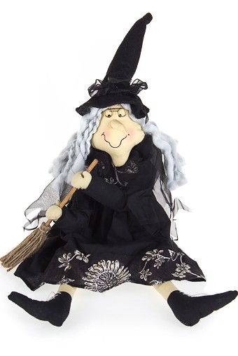 Кукла декоративная Ведьмочка