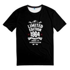 Мужская 3D-футболка 1964. Ограниченная серия