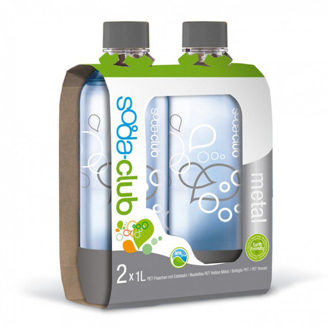 Бутылки Sodastream Twin Pack
