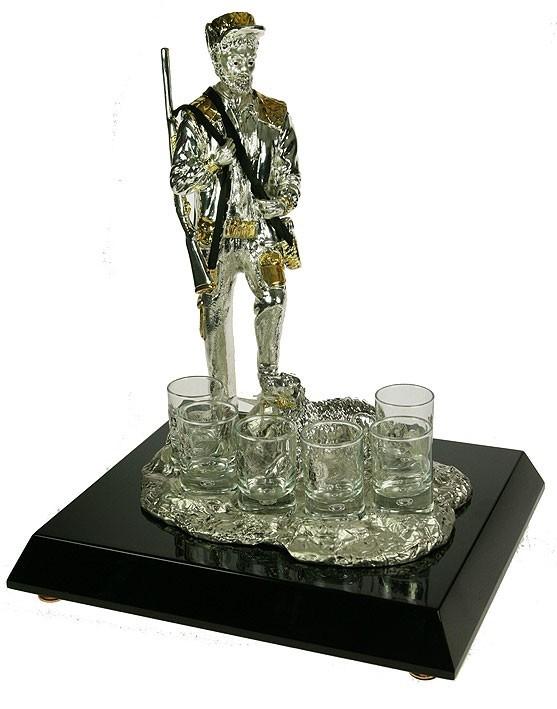 Подарочный набор для водки Траппер