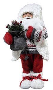 Игрушка Санта с подарком