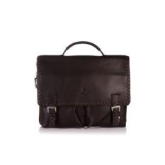 Мужской коричневый портфель L.Facini