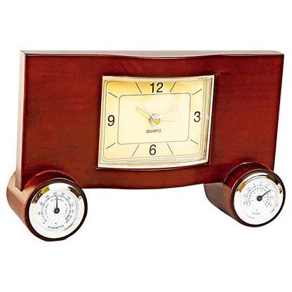 Погодная станция: часы, термометр и гигрометр